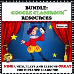 Secondary Resources, Learning Resources, Teacher Resources, Learning Tools, Google Classroom, Drama Education, School Subjects, Teacher Tools, Classroom Activities