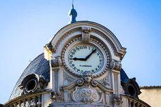 A toulouse, pourquoi l'horloge de la rue d'Alsace-Lorraine compte-t-elle 24 chiffres ? - photo Didier Laget