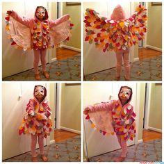 Яркий костюм совы