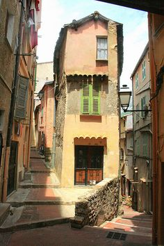 Old Streets in Menton