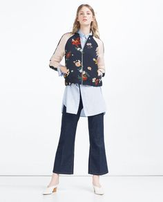 ZARA - NEW IN - PRINTED BOMBER JACKET
