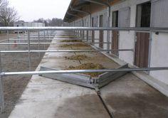 Sulzberger Pferdeboxen Stalleinrichtungen: Entmistung