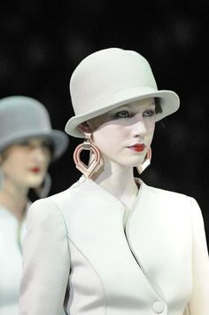 Fall/Winter 2013 Milan: Hats