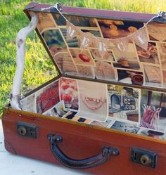 To make as a wedding card box. Wedding Cards, Diy Wedding, Wedding Events, Wedding Day, Wedding Book, Travel Party, Travel Themes, Wedding Designs, Perfect Wedding