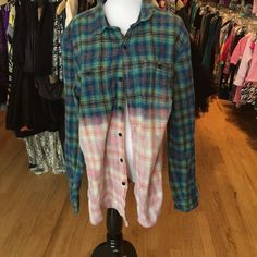Koto Urban Outfitters L plaid shirt Koto Urban Outfitters L plaid shirt  in good gently worn clean condition. Mild washwear does not detract.. 100% cotton. No trade no PayPal. Consigned to my boutique. Urban Outfitters Tops Button Down Shirts