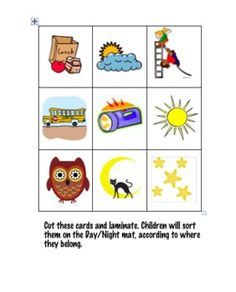 Day and Night Unit Activities