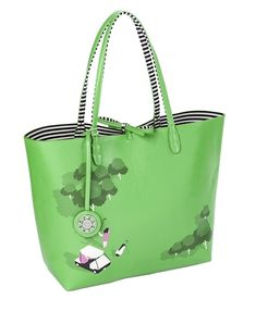 e050b6ddc87e84 Sydney Love Ladies Golf Reversible Totes with Inner Pouch - Swing Time