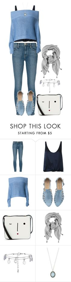 """""""Untitled #898"""" by wideeyed-appreciative ❤ liked on Polyvore featuring Frame, 3.1 Phillip Lim, TIBI, Lulu Guinness, New Look and Armenta"""