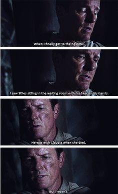 John Stilinski - Papa Stilinski feels - Teen Wolf season 3