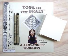 Getting Started with Zentangle :: Zentangle combines mindfulness and creativity and becomes a meditation you can turn to almost anywhere.