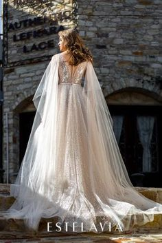 Estelavia 2020 Spring Bridal Collection – The FashionBrides Gowns With Sleeves, Bridal Collection, Wedding Gowns, Spring, Design, Fashion, Dresses With Sleeves, Homecoming Dresses Straps, Moda
