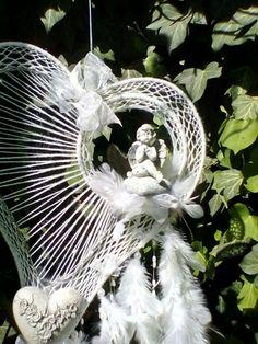 Dreamcatchers, Dandelion, Angels, Crafty, Hot, Flowers, Plants, Christmas, Handmade