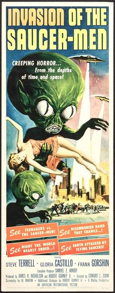 Invasion of the Saucer-Men (American International, 1957)