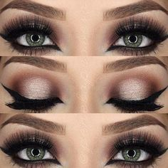 Most Attractive Makeup Ideas for Dark Green Eyes
