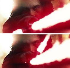 Kylo Ren in The Last Jedi Teaser Trailer