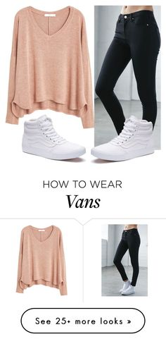 """Untitled #83"" by sanchez-ashley on Polyvore featuring MANGO, Bullhead Denim Co. and Vans"