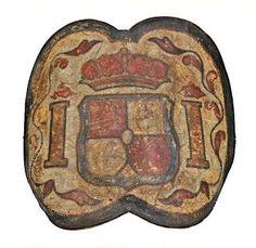 Adarga de Presidiales o Dragones de Cuera 2º mitad S. XVIII