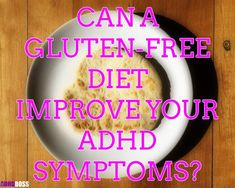 What impact can a gluten-free diet have on your ADHD? Well, based on science & personal experience - you may want to go gluten free if you have ADHD. Weight Loss Meal Plan, Easy Weight Loss, How To Lose Weight Fast, What Is Gluten Free, Gluten Free Diet, What Is Ketogenic, 200 Calorie Meals, Vegan Keto Diet, Adhd Brain