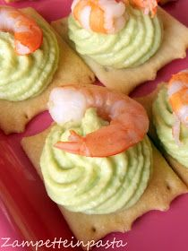 Mousse di avocado - Ricetta con avocado Appetizers For Party, Appetizer Recipes, A Food, Food And Drink, Healthy Finger Foods, Avocado Recipes, Appetisers, Seafood Recipes, Food Inspiration