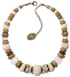 Halskette Oriental Bliss weiß