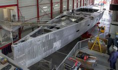 46m Superyacht project 3072 well underway at Vitters - Shipyard News - SuperyachtTimes.com