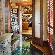 A Stream That Runs Through The Hallway   31 Remodeling Ideas You Obviously Need In Your Future Home