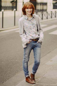 Street Style girl fashion womens fashion