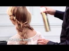 Tutorial Capelli: come fare lo chignon intrecciato romantico - YouTube