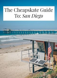 There are so SO many cheap things to do in San Diego Click through for insights from a local like the best cheap tacos free museums and 35 a night beach camping San Diego Vacation, San Diego Travel, California Beach Camping, California Travel, Southern California, Festival Camping, Camping Hacks, Camping Ideas, Camping Guide