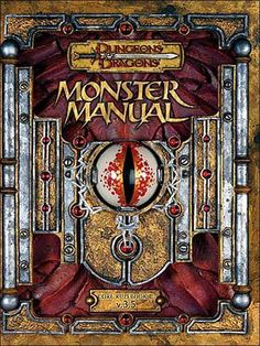 Monster Manual - really dig the look of the 3.5 books.
