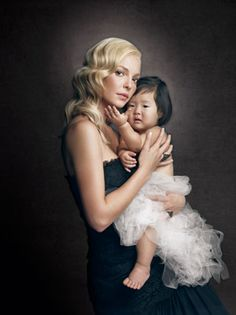 Katherine Heigl With Her Beautiful Daughter.