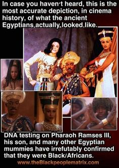 There was around sub Saharan African blood found in Egyptians. Black History Facts, Black History Month, Strange History, History Books, World History, History Education, History Classroom, By Any Means Necessary, African American History
