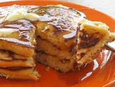 I just made these..not sure if I'll ever make regular pancakes again!! Delicious!