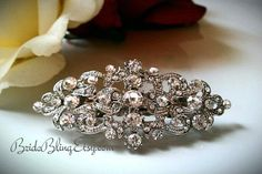 Hey, I found this really awesome Etsy listing at https://www.etsy.com/listing/160727832/flower-girl-clip-rhinestone-clip-bridal