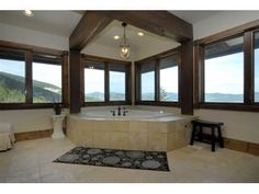 Forget a room with a view. How about a tub with a view?