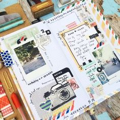 Mexico by Christy Tomlinson using a Midori traveler's notebook