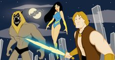 Thundarr the Barbarian by Oddabeish.deviantart.com on @deviantART