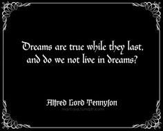 a quote from the poem The Higher Pantheism by Alfred Lord Tennyson x