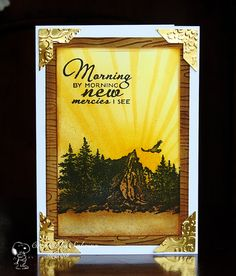Handmade card by Sabrina using the New Mercies stamp set from Verve. #vervestamps
