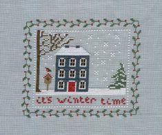 Winter cottage, mon cadeau de Nouvel-An  free pdf