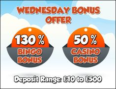 #WinItWednesday The #bonus offers get better EVERYDAY at #GameVillage  Come and avail the #bonus offer of the day to enjoy your favourite #bingo and #casino #games   Visit https://www.gamevillage.com and deposit now for the bonus offer of the day!  Validity : 23rd September, 2015  For Bonus & Withdrawal Rules visit https://www.gamevillage.com/terms-and-conditions