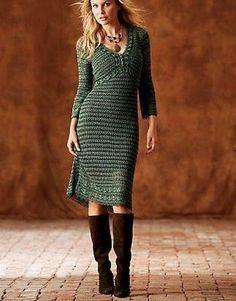 Crochet Dress custom made hand made crochet . by Irenastyle