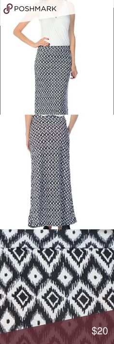 Bellino diamond maxi dress size L Beautiful and great for summer.  Maxi.  Re-posh was too big for me.  Super cute and comfy. Bellino Clothing Dresses Maxi
