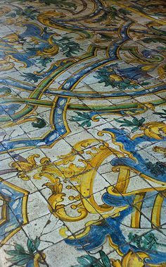 Floor Tiles - Chateau de Chaumont