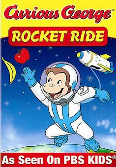 Curious George - Rocket Ride and Other Adventures (DVD) Pbs Kids, Kids Tv, Rocket Ride, O Movie, Childhood Movies, Curious George, Adventure, Fun, Fictional Characters