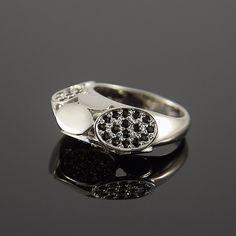 FINAL SALE 50% OFF, Statement ring, Cocktail ring, Quartz ring, Silver quartz ring, Brown topaz ring, Art deco ring, Geometric ring