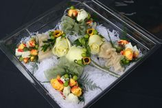 This is an example of my corsage and boutonniere designs.