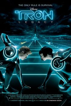 Tron Legacy. Love this film. So visually stunning and the music is my FAVE! <3 Daft Punk.