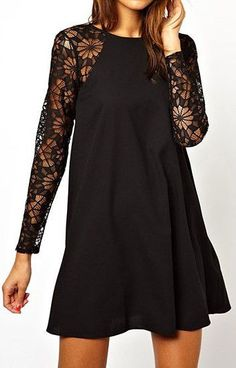i'm on a lace sleeves kick, and this pattern is awesome (not too granny)