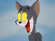""""""" Tom and Jerry in """"Springtime For Thomas"""" """" Tom And Jerry Gif, Tom And Jerry Cartoon, Cartoon Gifs, Cute Cartoon Wallpapers, Surreal Artwork, Cartoon Profile Pictures, Animal Posters, Aesthetic Gif, Vintage Cartoon"""